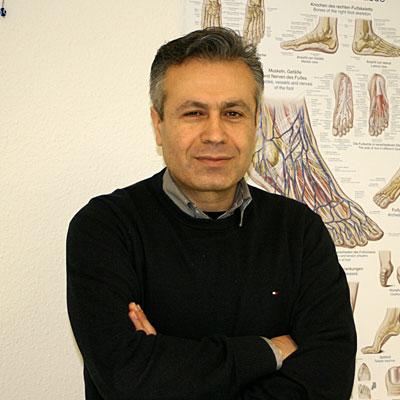 Podologe Hamid Rashedi